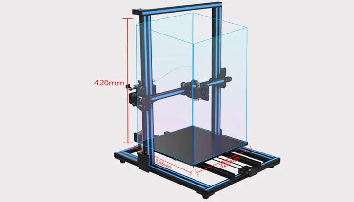 Слон в посудной лавке: 3D принтеры с огромным полем печати - 7