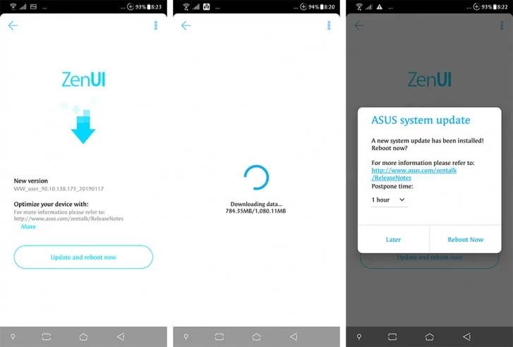 Смартфон Asus Zenfone 5Z получил обновление Android 9.0 Pie во всем мире
