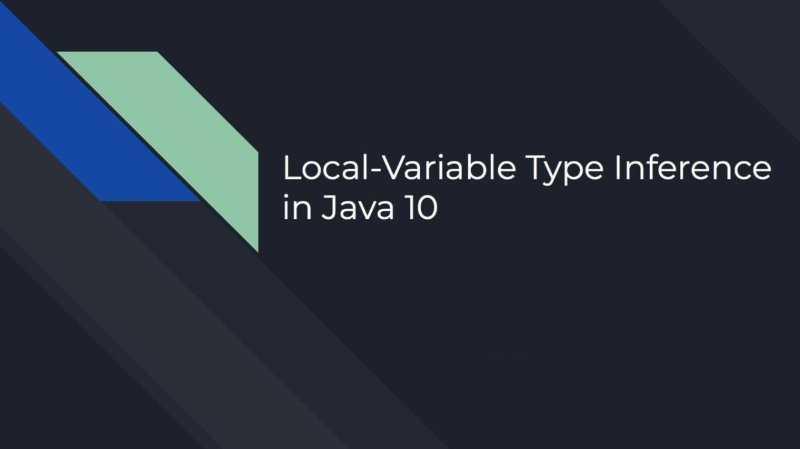 26 рекомендаций по использованию типа var в Java - 1