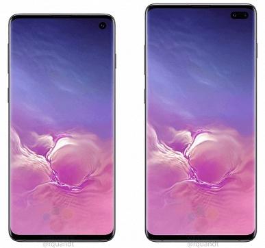 Фотогалерея дня: официальные изображения смартфонов Samsung Galaxy S10 и Galaxy S10+