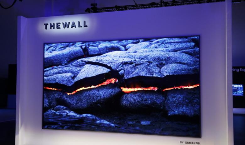 Огромные модульные телевизоры Samsung могут стать гибкими