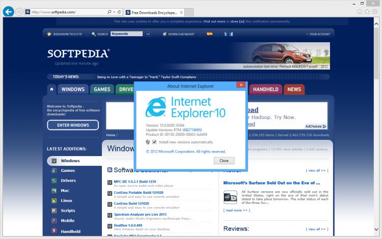 В 2020 году Microsoft прекратит поддержку Internet Explorer 10 - 1
