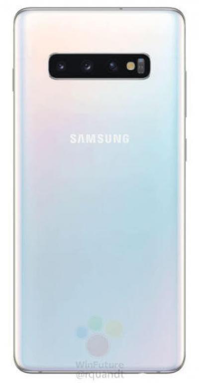 Утечка официальных рендеров со всеми вариантами исполнений Galaxy S10, S10+