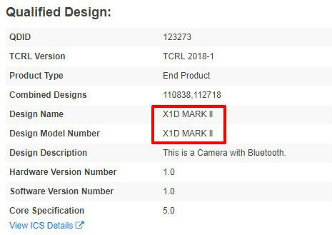 Hasselblad готовит среднеформатную камеру X1D Mark II