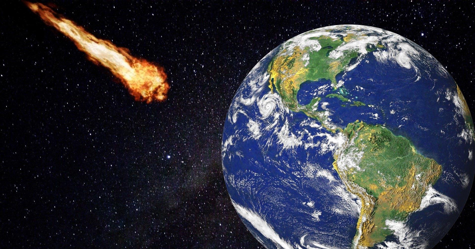 Еще один подозрительный метеорит упал на Землю