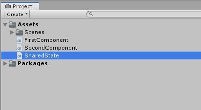 Управление состоянием и событиями между компонентами в GameObject - 15