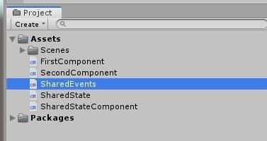 Управление состоянием и событиями между компонентами в GameObject - 28