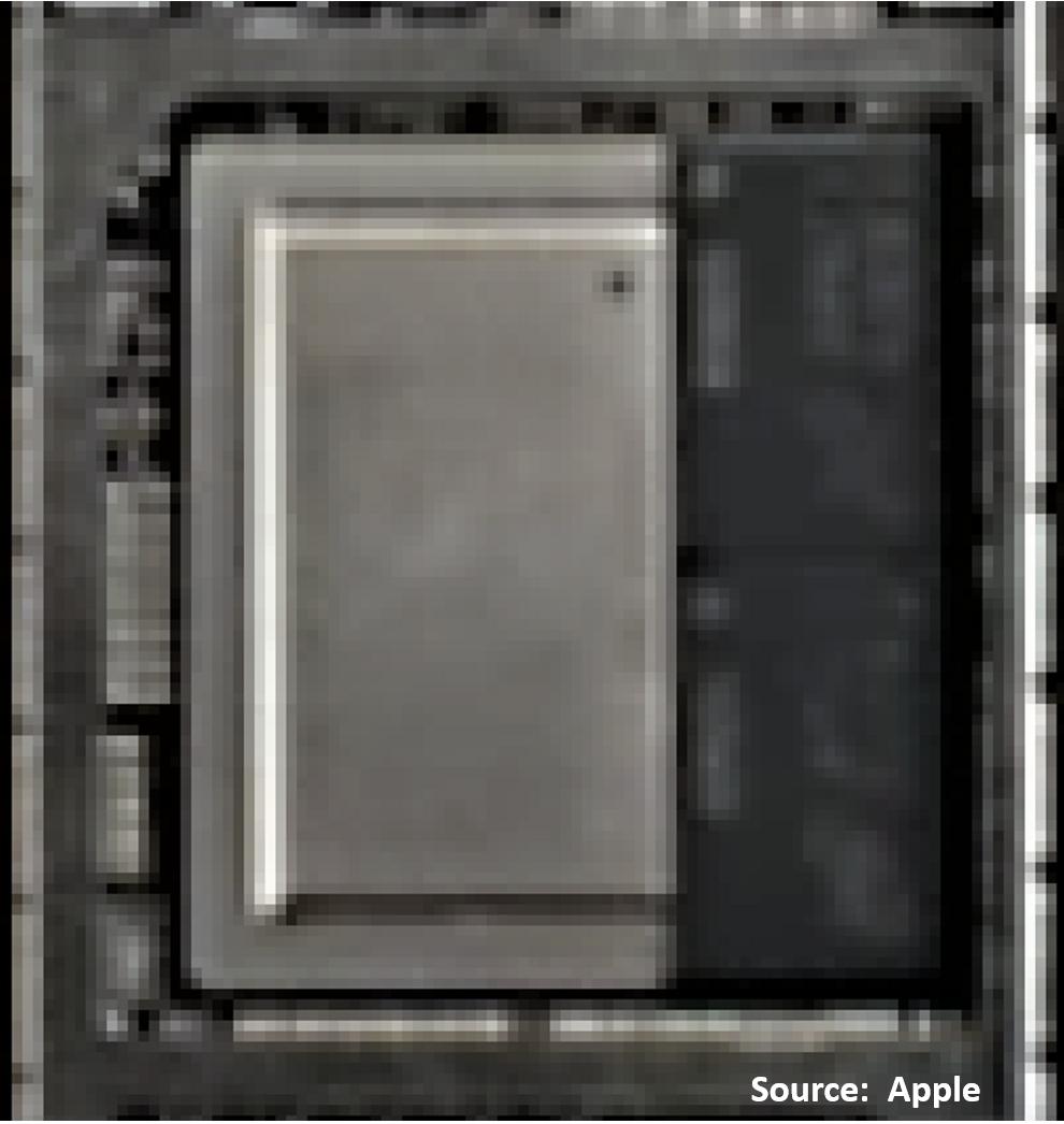 Очень странный корпус микропроцессора A12X от Apple - 2