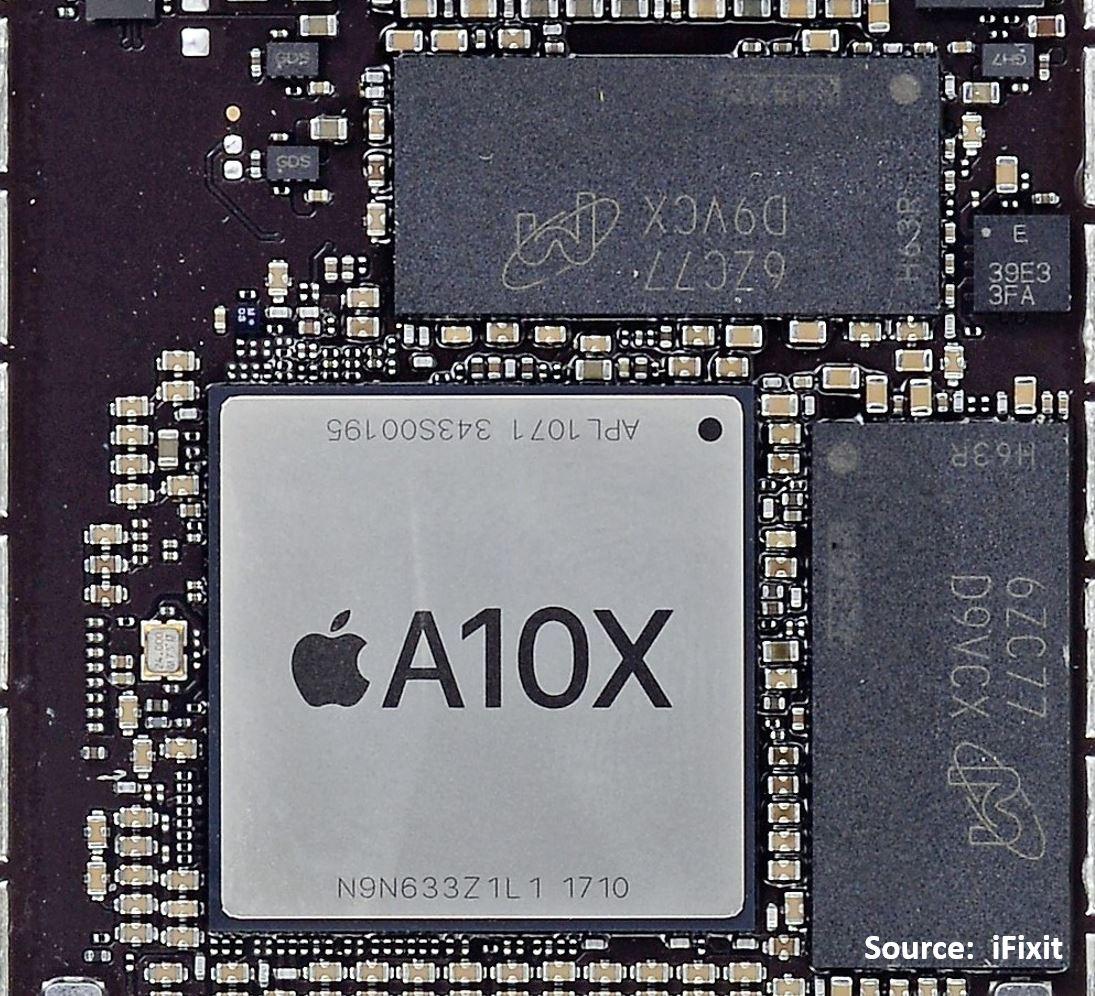 Очень странный корпус микропроцессора A12X от Apple - 9