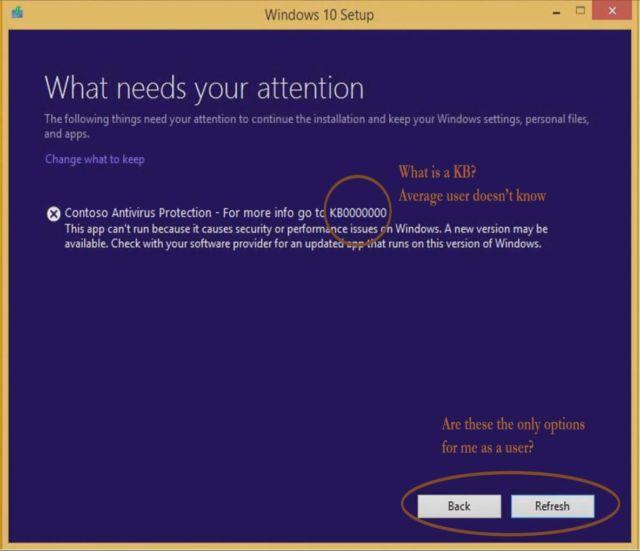 Сообщения об ошибках Windows станут гораздо более информативными - 1