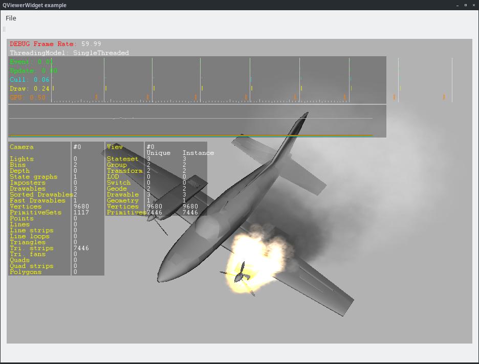 OpenSceneGraph: Интеграция с фреймворком Qt - 6