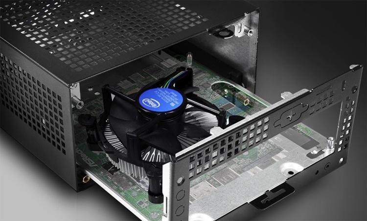 Компактный ПК ASRock DeskMini 310 получил поддержку чипов Intel Core девятого поколения