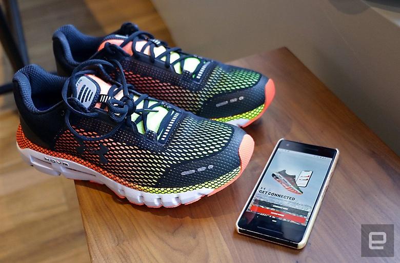 Умные кроссовки Under Armour начинают продаваться в России