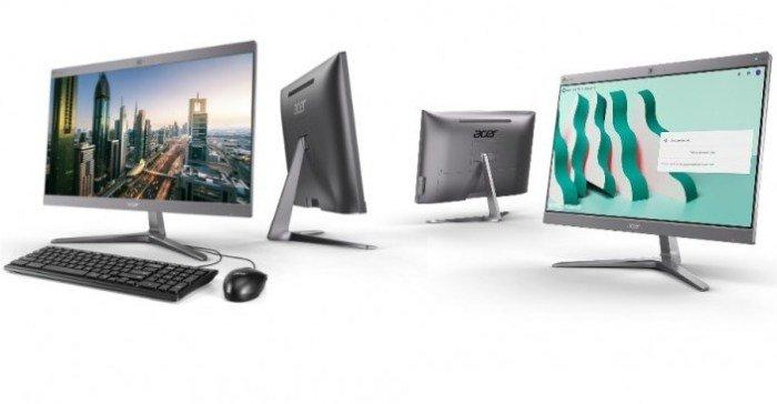 Идея Chromebase еще жива? Acer анонсировала два моноблочных компьютера под управлением Chrome OS