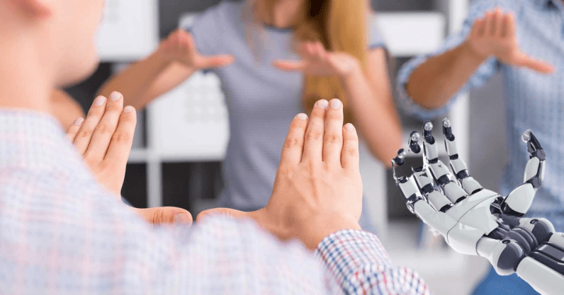 Как ИИ помогает осваивать язык жестов - 1