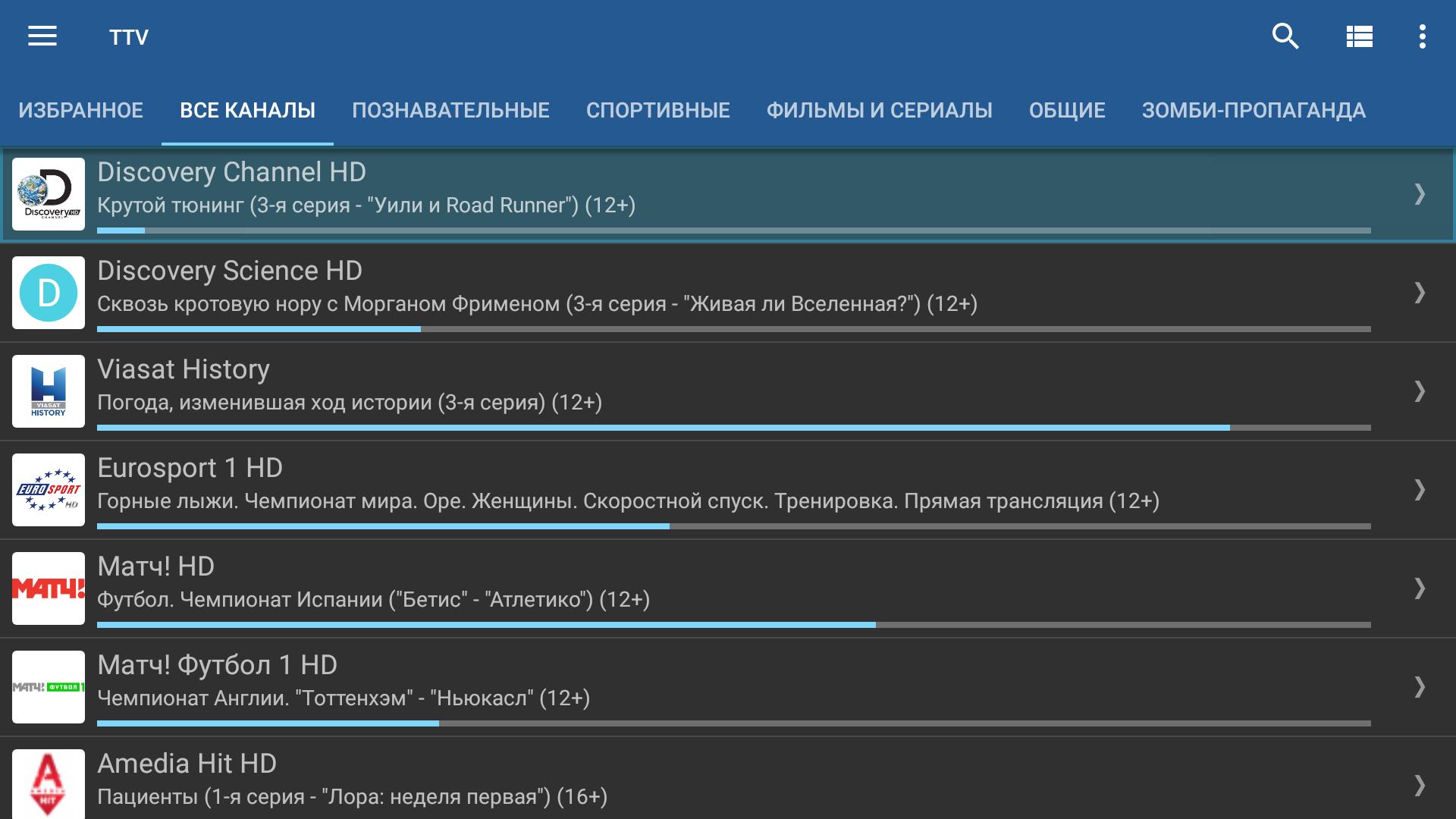 Приводим в порядок плейлист Торрент-ТВ («Суперпомойка») - 1