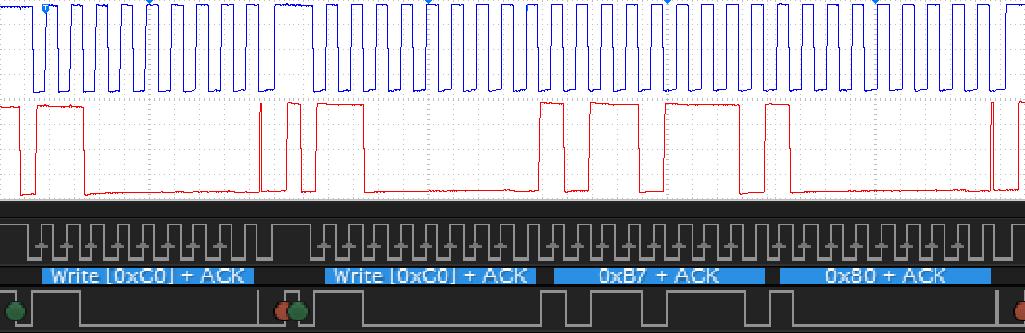 Радиолюбительские измерения: анализ сигналов шины I2C - 7