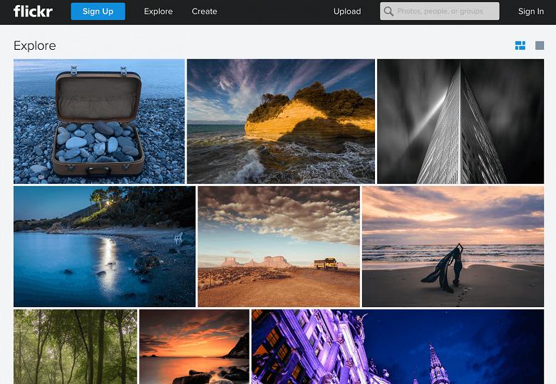 Flickr позволяет бесплатно скачать фотографии, а с 12 марта начнет удаление излишнего контента