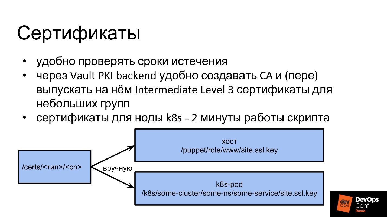 Управление секретами при помощи HashiCorp Vault - 6