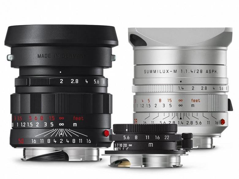 Новые варианты трех объективов Leica M будут выпущены ограниченными сериями