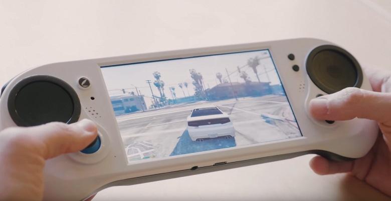 Видео дня: Smach Z — потенциально лучшая портативная игровая консоль — справляется с рядом игр, включая GTA V