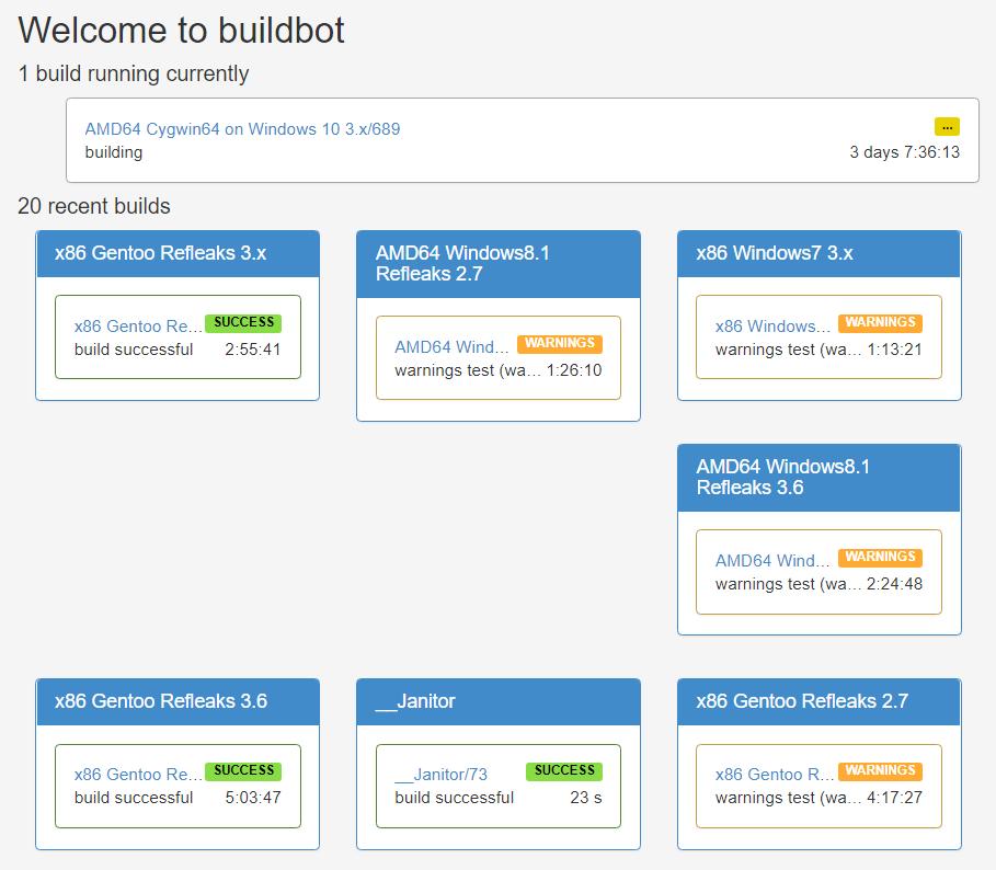 Buildbot: сказ с примерами еще об одной системе непрерывной интеграции - 4