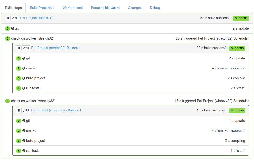Buildbot: сказ с примерами еще об одной системе непрерывной интеграции - 6
