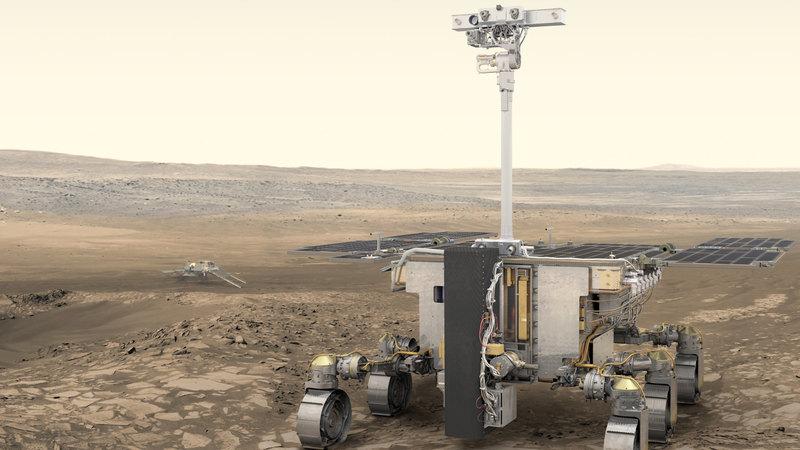 ESA сообщило официальное название будущего марсохода