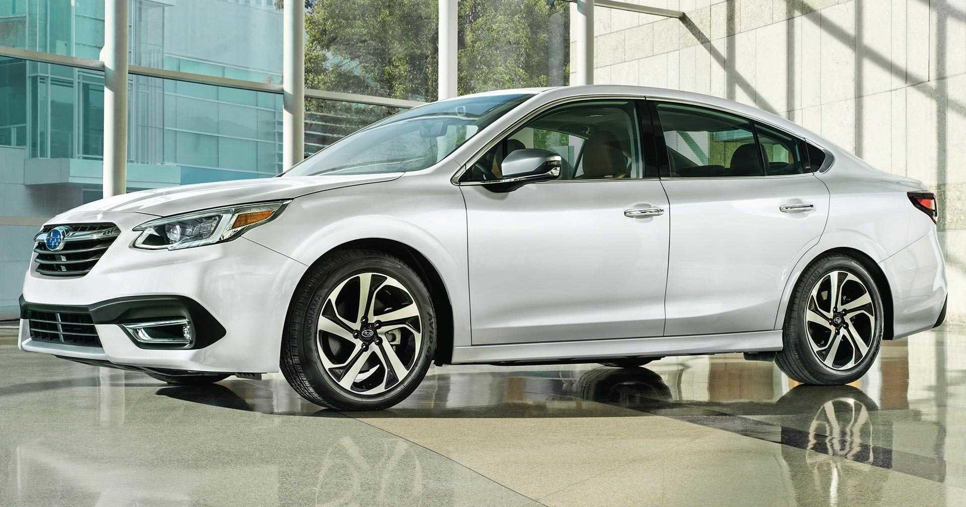 Subaru показала новый седан Legacy