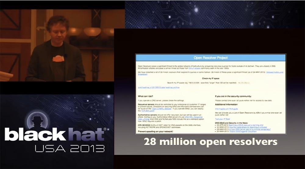 Конференция BLACK HAT. Уроки выживания при DDOS-атаке 300 Гбит - с. Часть 1 - 10