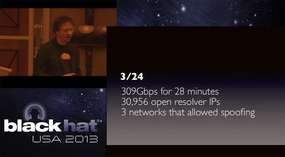 Конференция BLACK HAT. Уроки выживания при DDOS-атаке 300 Гбит - с. Часть 1 - 13