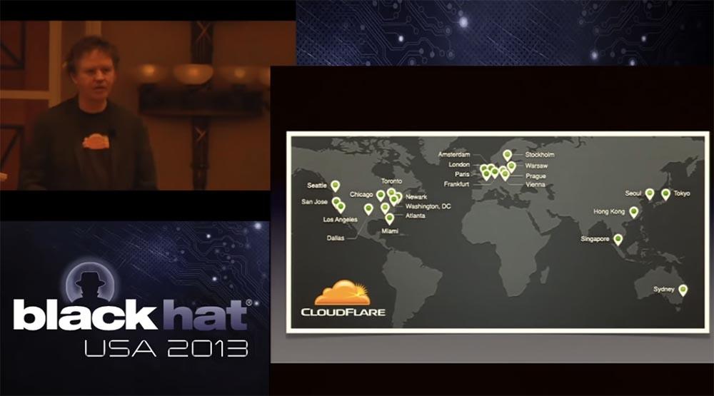 Конференция BLACK HAT. Уроки выживания при DDOS-атаке 300 Гбит - с. Часть 1 - 14