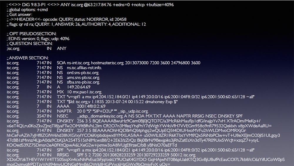 Конференция BLACK HAT. Уроки выживания при DDOS-атаке 300 Гбит - с. Часть 1 - 8