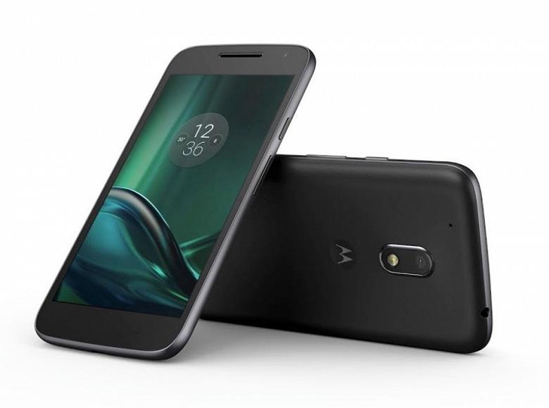 Выпущенный три года назад смартфон Moto G4 Plus получил стабильную версию Android 8.1 Oreo