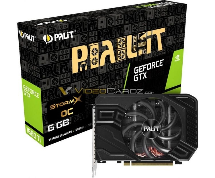 EVGA и Palit готовят компактные версии GeForce GTX 1660 Ti
