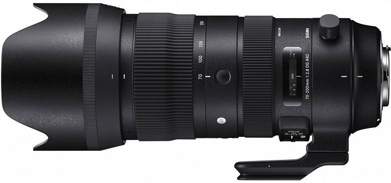 Названа дата начала продаж объектива Sigma 70-200mm F2.8 DG OS HSM Sportsс креплением Nikon F - 1