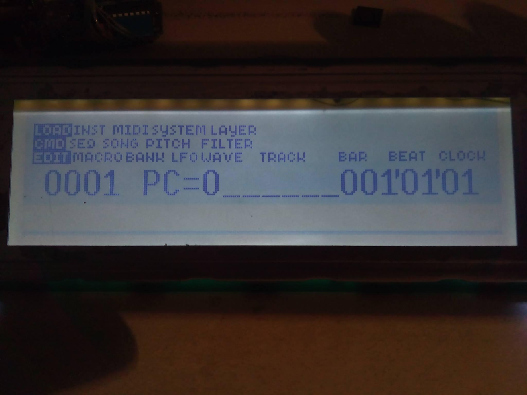 Создание альтернативного дисплея для синтезатора-сэмплера Ensoniq EPS16+ и ASR10 - 3