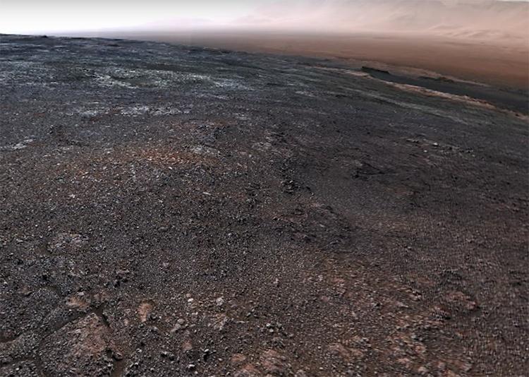 Видео дня: новая круговая панорама Марса с борта Curiosity