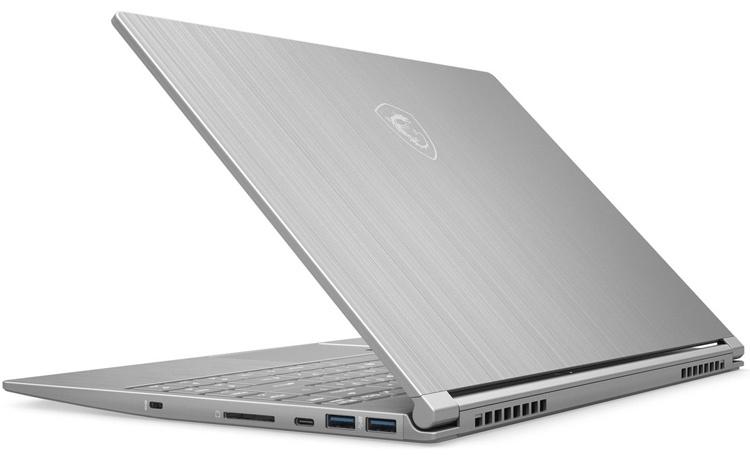 MSI оснастит новый 14-дюймовый ультрабук видеокартой GeForce MX250