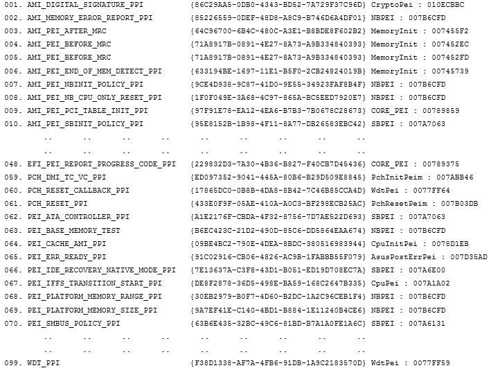 Статический анализ «BIOS-UEFI» или как получить Dependency Graph - 3