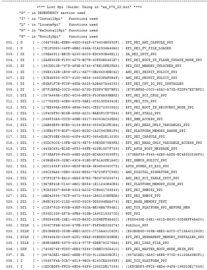 Статический анализ «BIOS-UEFI» или как получить Dependency Graph - 7