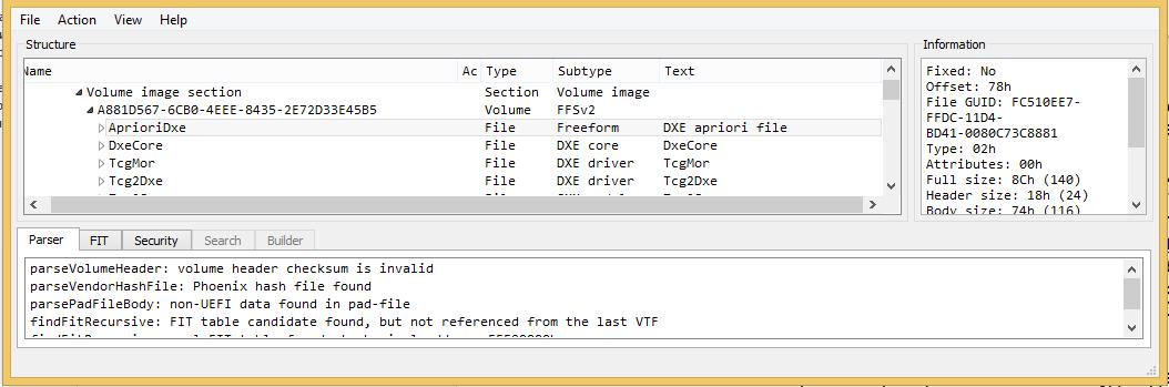 Статический анализ «BIOS-UEFI» или как получить Dependency Graph - 1