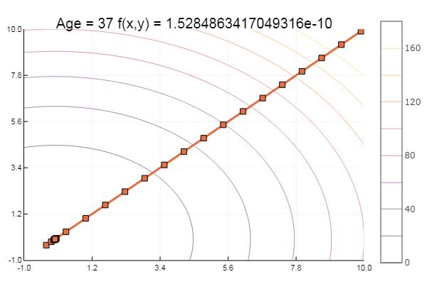 Julia, Градиентный спуск и симплекс метод - 3