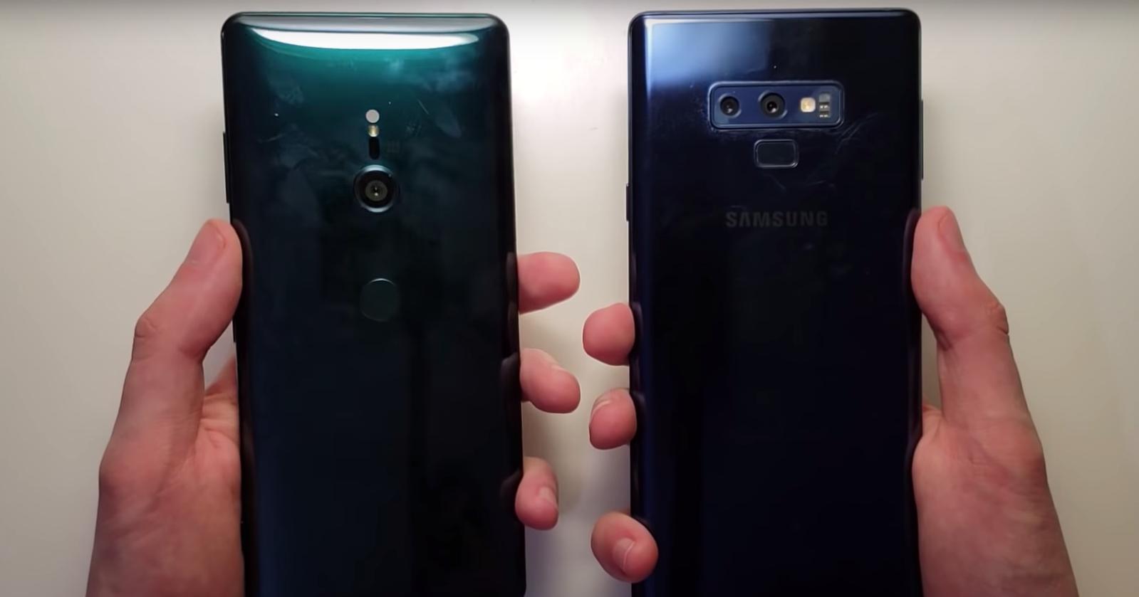 Sony Xperia XZ3 против Samsung Galaxy Note9: тест на скорость