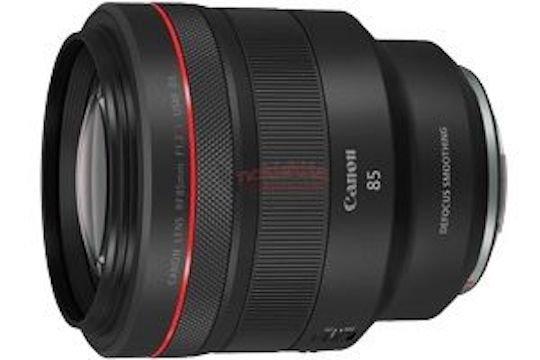 Объектив Canon RF 85mm f/1.2L USM DS будет наделен функцией Defocus Smoothing