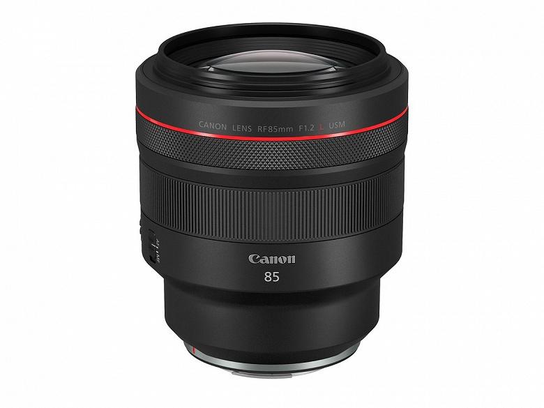 Canon анонсирует выпуск шести объективов системы EOS R
