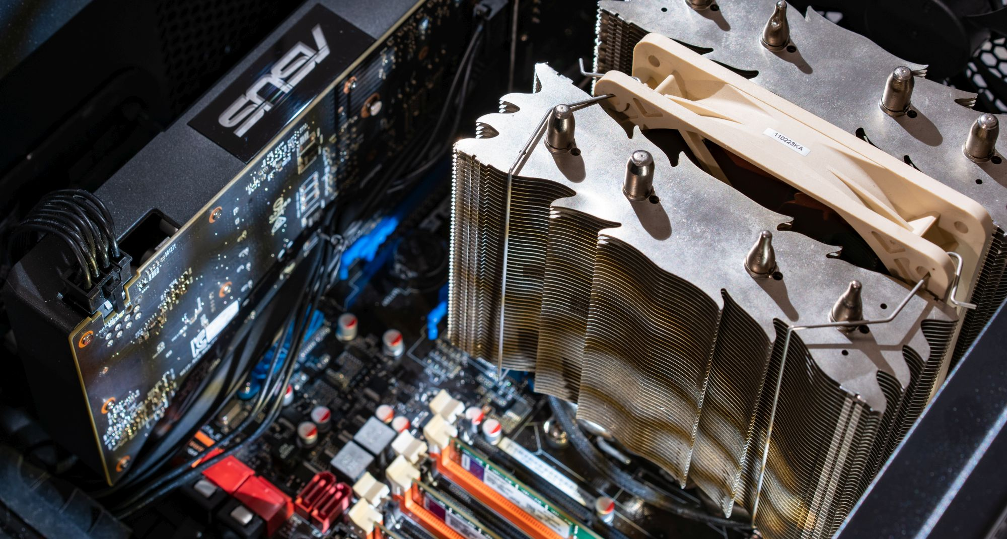 Древности: современный компьютер из старых запчастей - 15