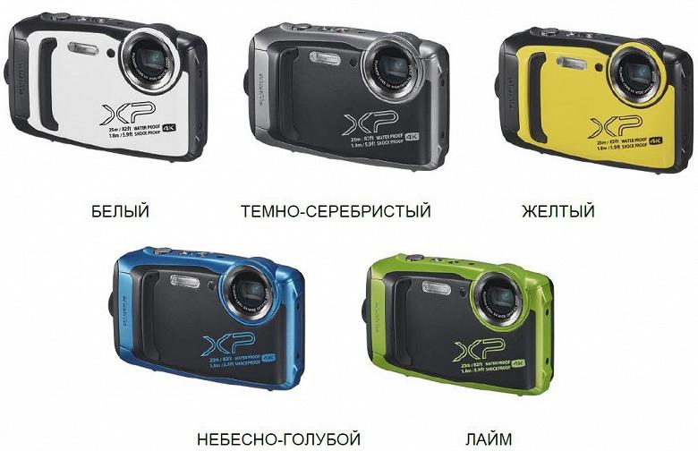 Камера Fujifilm FinePix XP140 выдерживает падения с высоты до 1,8 м