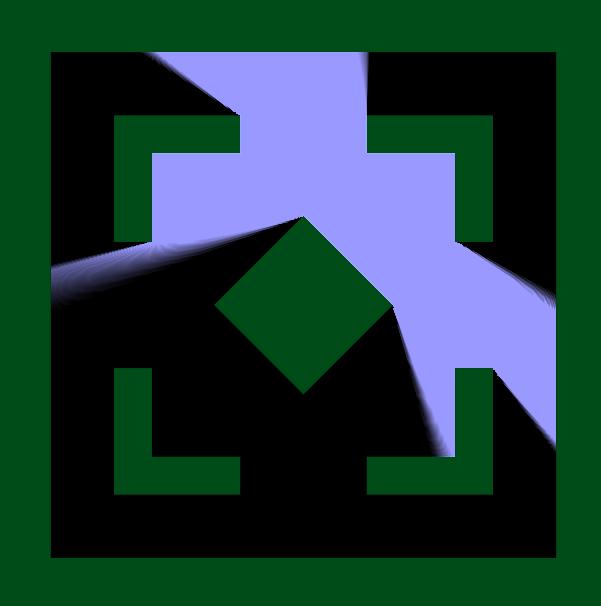 2D-тени на Signed Distance Fields