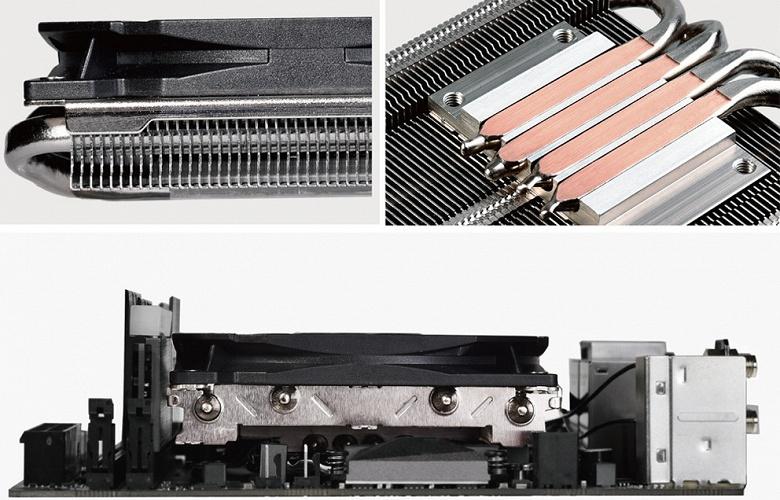 ID-Cooling IS-30 — крупный процессорный кулер высотой всего 30 мм